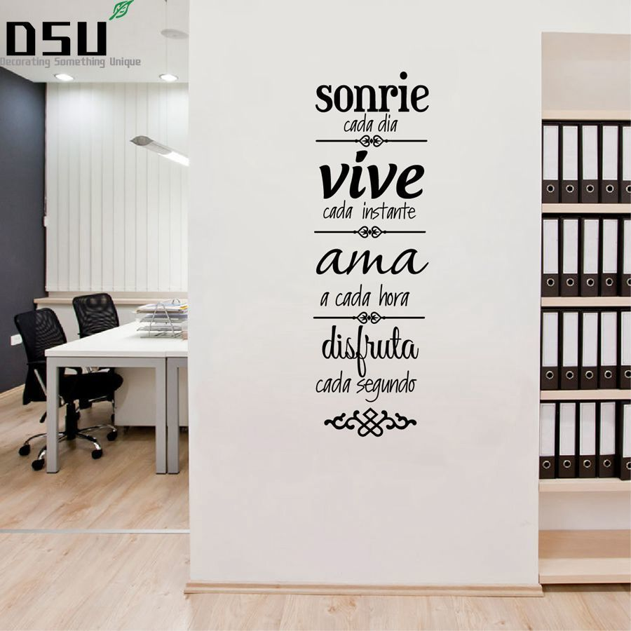 Spanish House Rules Wall Sticker Home Decoration NORMAS DE CASA Vinilos Decorativos SPS-13 Wallpaper