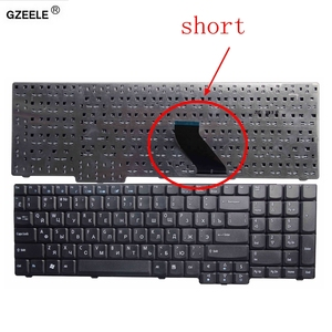 Image 1 - GZEELE Laptop keyboard FOR ACER 5610 5620 ZR6 9400 7000 7110 eMachines E528 E728 Short cable RU BLACK Replace Keyboards RUSSIAN