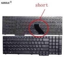 GZEELE clavier pour ordinateur portable ACER 5610, 5620, ZR6 9400, 7000, eMachines E528, câble court, RU, RU, version noire de remplacement, russe