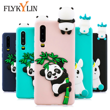 FLYKYLIN Silicone Case For Huawei P30 Pro Cases For Huawei P20 Lite P10