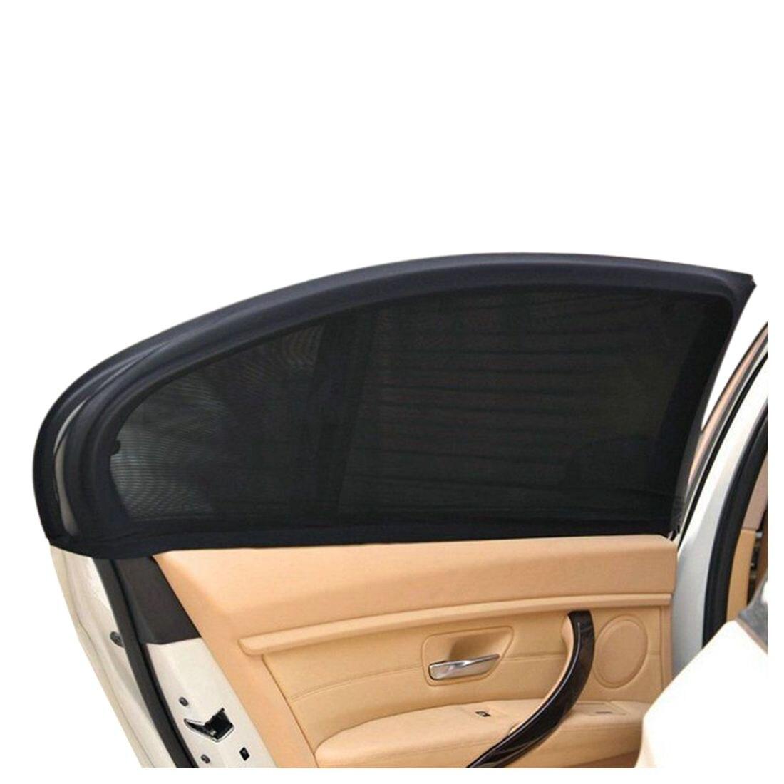 2 X Car Side Rear Window Sun Visor Cover Shield Sunshade UV Side ... b4b5b95c6ef
