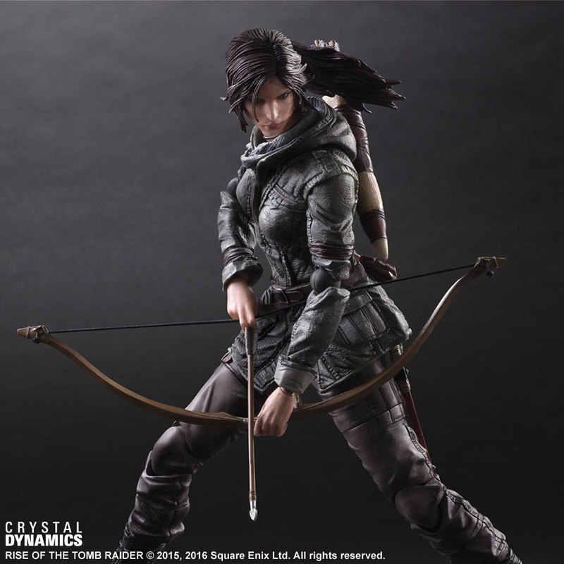 Venda QUENTE Lara Croft Tomb Raider Boa cor animação jogo mão artes kai mudar aumento de tomb raider Laura mão de Alta qualidade SUPERIOR NOVA