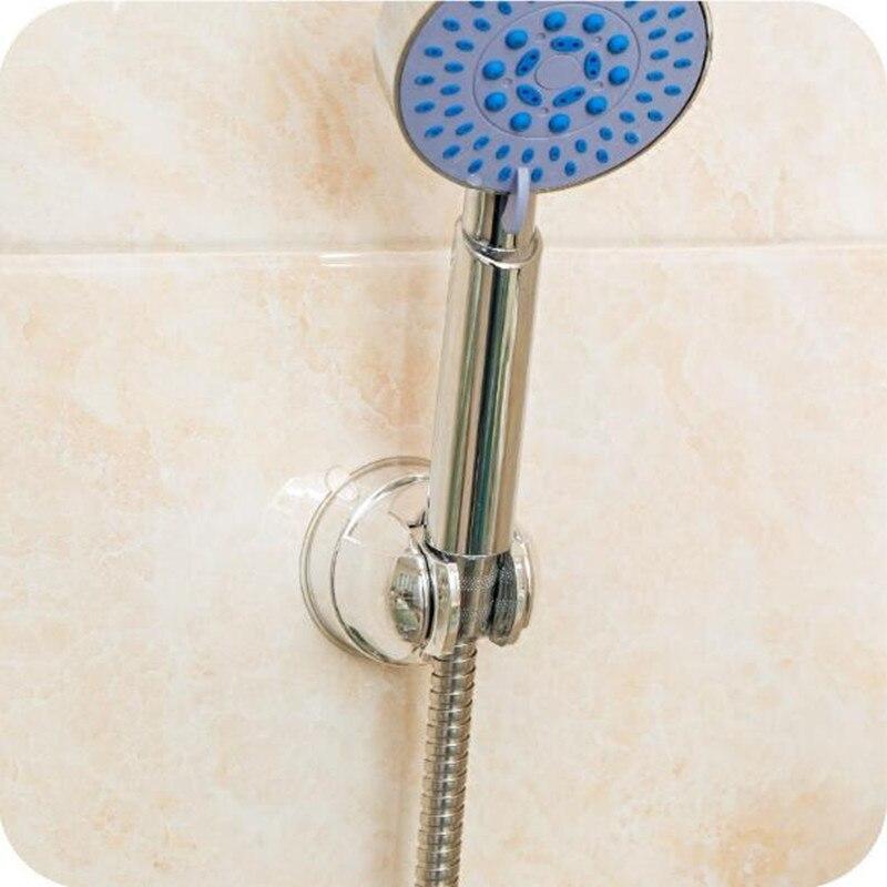 Plastic Adjustable Stand Bracket Holder Mount Suction Cup Shower Holder For  Bathroom Shelf Handheld Shower Holder Fixed Seat In Bathroom Shelves From  Home ...