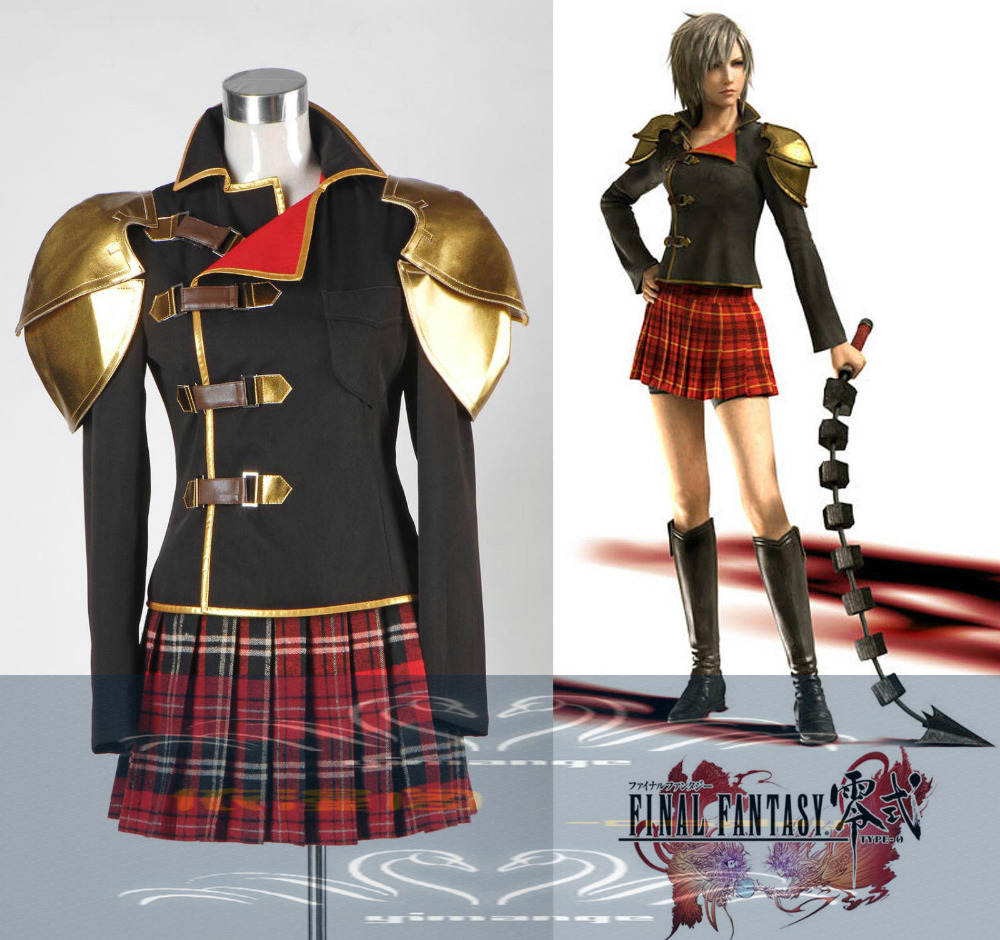 generic final fantasy type 0 sice anime cosplay costumes halloween christmas