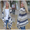 Sweater Mujer 2016 Spring Autumn Long Sleeve Poncho Thin Casual Women Cardigan Loose Knitted Sweater Matching Poncho cardigans