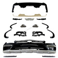 GL166 styling PP car body kit bumper apron for Mercedes Benz standard GL calss 2013-2014
