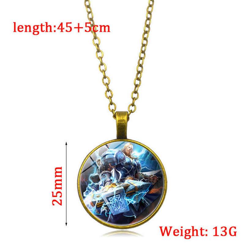 شعبية لعبة الله المحرقة قلادة قلادة فضية طويلة سترة سلسلة مجوهرات لعبة العشاق الهدايا