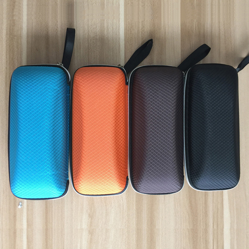 Portable Sunglasses Case Colorful Cover Women Glasses Box With Zipper Eyeglass Shell Protector Rectangle Hard Eye Glasses Case