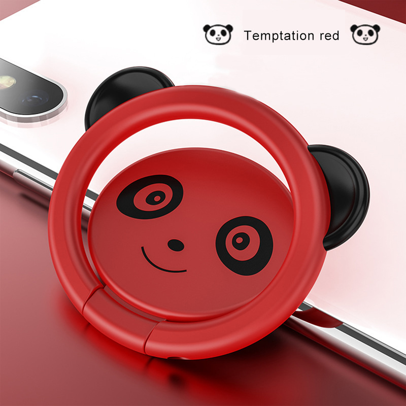 Plating Lovely Bear Brown Phone Holder Mobile Finger Ring 180 Degree Rotation Stand For IPhone 7 Samsung Xiaomi  Kickstand