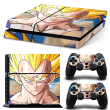 Dragon Ball Z – VEGETA Decal Stickers for PS4