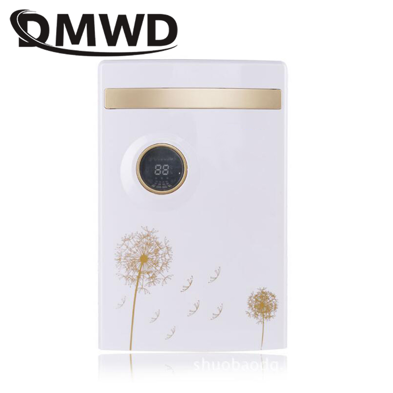 DMWD Portable Electric Dehumidifier Absorber Household Mute Moisture Absorbing Intelligent LED Air Purifier Dryer Cleaner EU цена и фото