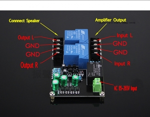 Image 3 - AC 220V Speaker Protection Board 30A Relay High power Delay start Board for Max 900W Amplifier Board
