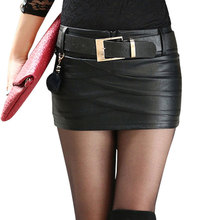 Leather skirt with pockets online shopping-the world largest ...