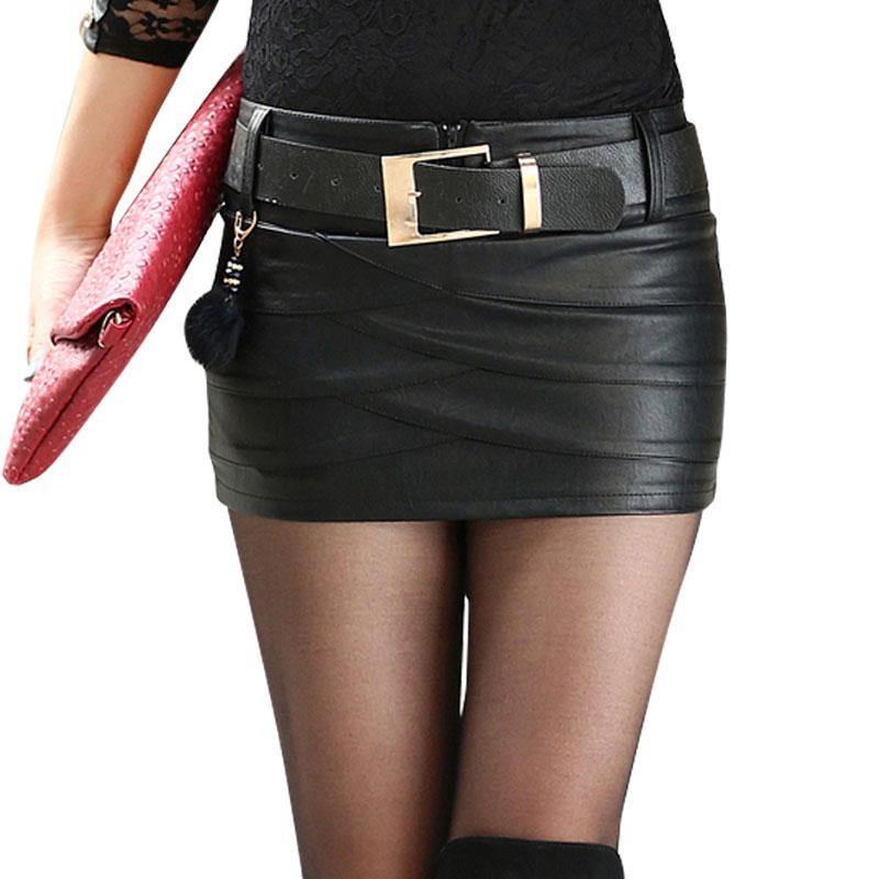 Online Buy Wholesale designer leather skirt from China designer ...