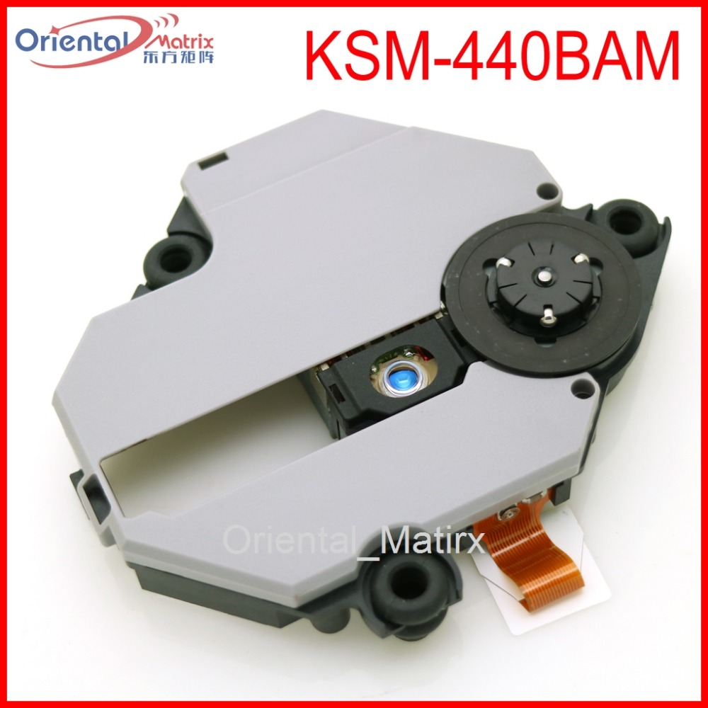 Free Shipping KSM-440BAM Optical Pick Up For Sony Playstation 1 PS1 KSM-440 With Mechanism Optical Pick-up replacement laser lens pick up drive for sony ps1 playstation one ksm 440adm 440bam 440aem optical repair part