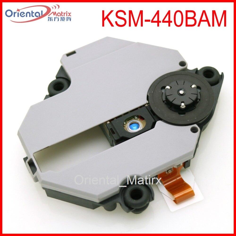 Frete Grátis Original KSM-440BAM Óptica Pick Up Para Sony Playstation 1 PS1 KSM-440 Com Mecanismo Optical Pick-up