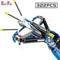 322pcs Technic Weapon Series Crossbow Bow Arrow Building Blocks Compatible Legoings Creative Bricks Educational Toys For Boys