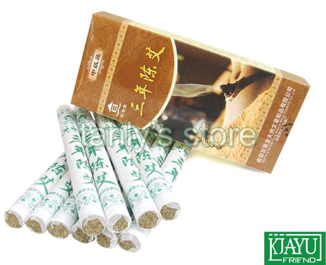 Nan Yang Bai cai tang 3 years old moxa roll high quality moxibustion 18x200mm 10 pieces/pack женские часы boccia titanium 3188 01