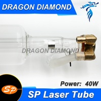 SP 40W Co2 Laser Tube For Co2 Laser Engraving Machine