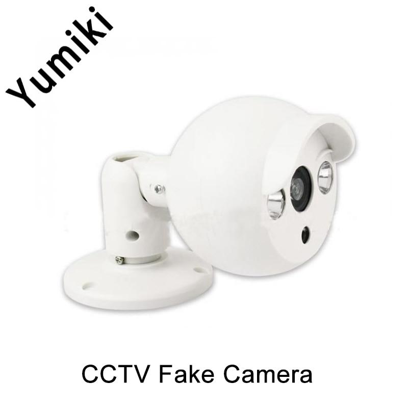 Yumiki Indoor Fake Camera Smiling dummy simulation camera surveillance camera Model CCTV Security waterproof camera FC