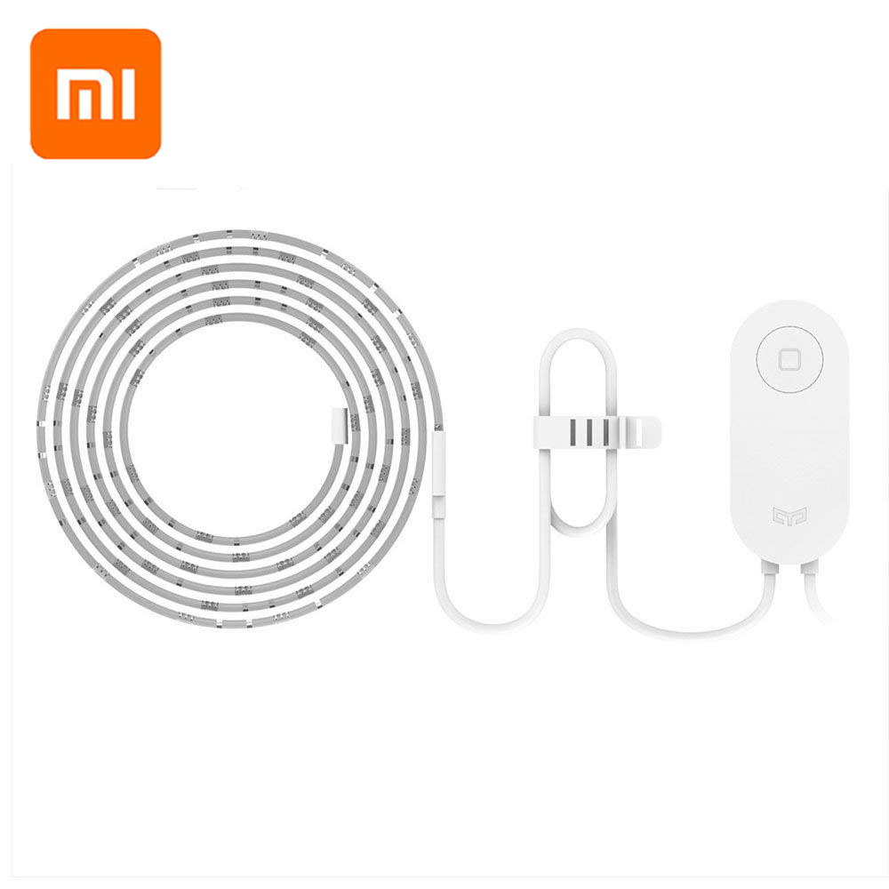 Xiaomi Yeelight RGB LED 2M Smart Light Strip Smart Home For APP Wifi Works With Alexa Google Home Assistant 16 Million Colorful