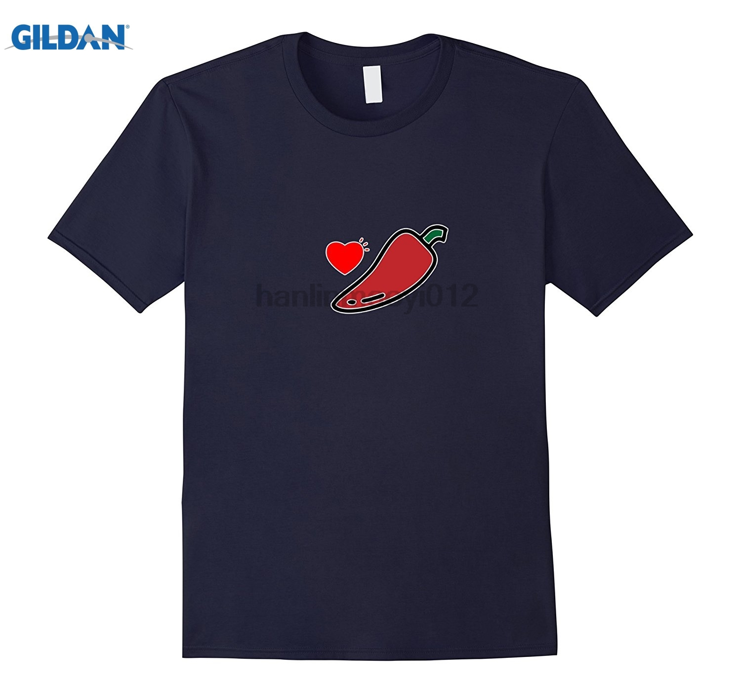 GILDAN Funny I Love Mexican Chile T-shirt for Spicy Lovers Womens T-shirt ...