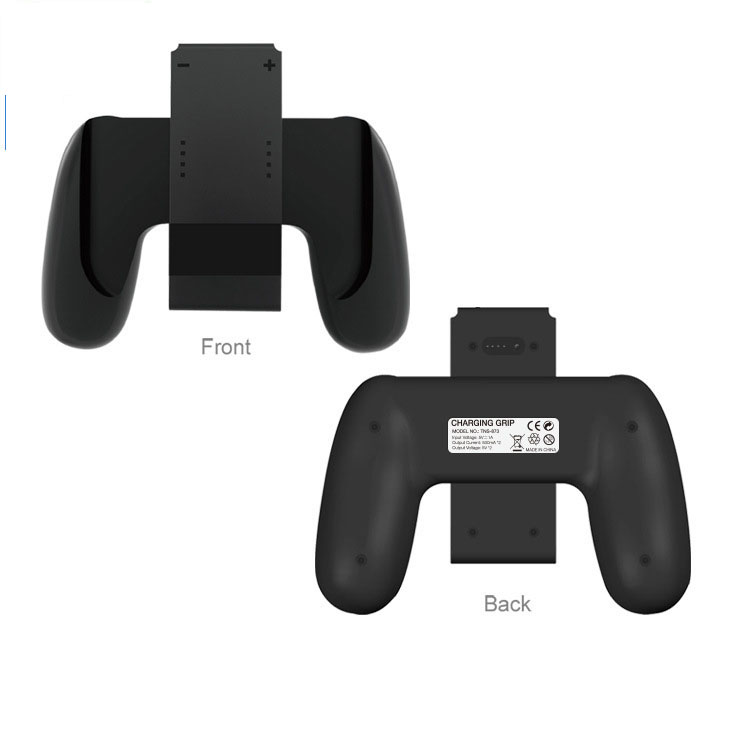 Купить с кэшбэком Li-Po 1800mAh Power Bank Charger Chargeable Stand Holder Charging Grip for Nintend Switch Nintendo NS Handle Grip Storage