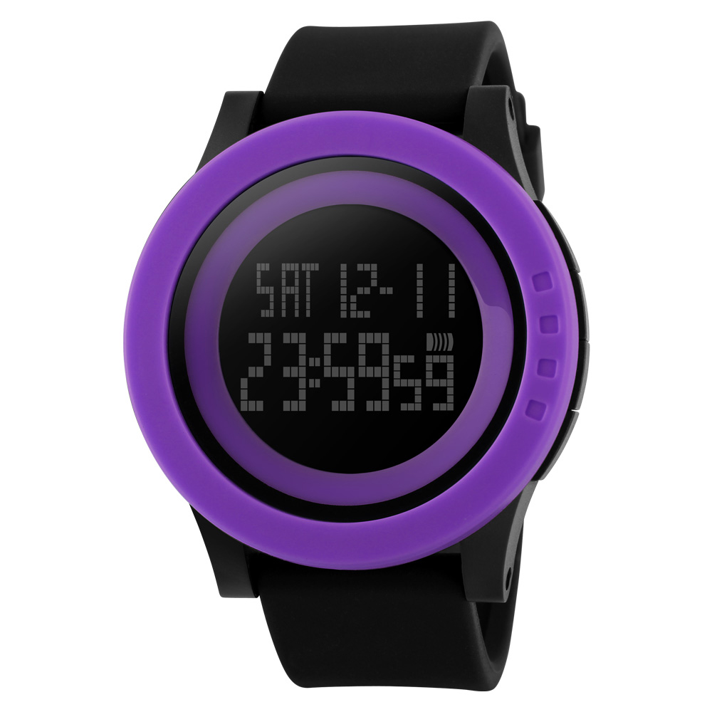 <font><b>SKMEI</b></font> New Sports Man Watch Men Military Fashion Silicone Waterproof LED Digital Watch For Men Clock Man Reloj hombre zk30 1142 image