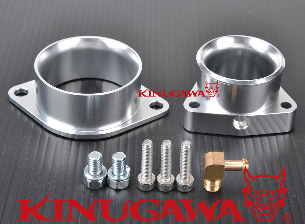 Kinugawa Turbo Compressor Inlet & Outlet Adapter Kit for Nissan 300ZX SR20DET S14 S15 T28R GT25R / for Garrett GT2560R GT2871R