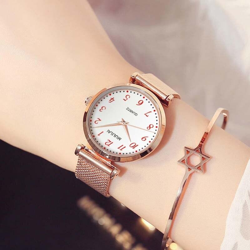 Luxury Women Watch Magnetic Rome classic Female Clock Quartz Wristwatch Fashion Ladies Wrist Watch reloj mujer relogio feminino