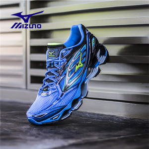 Mizuno Blue Sports Running Shoes Weightlifting Shoes Wave Prophecy 6  Professional 92fb68e96a96