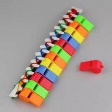 1 шт., Хлопушка, чистый высококачественный звук, красочный пластиковый детский игрушечный свисток для детей