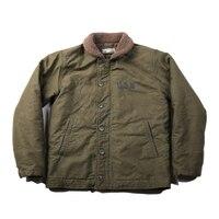 NON STOCK Vintage US Navy N 1 Deck Jacket Winter USN Men's Military Cotton Coat Slim Fit N1