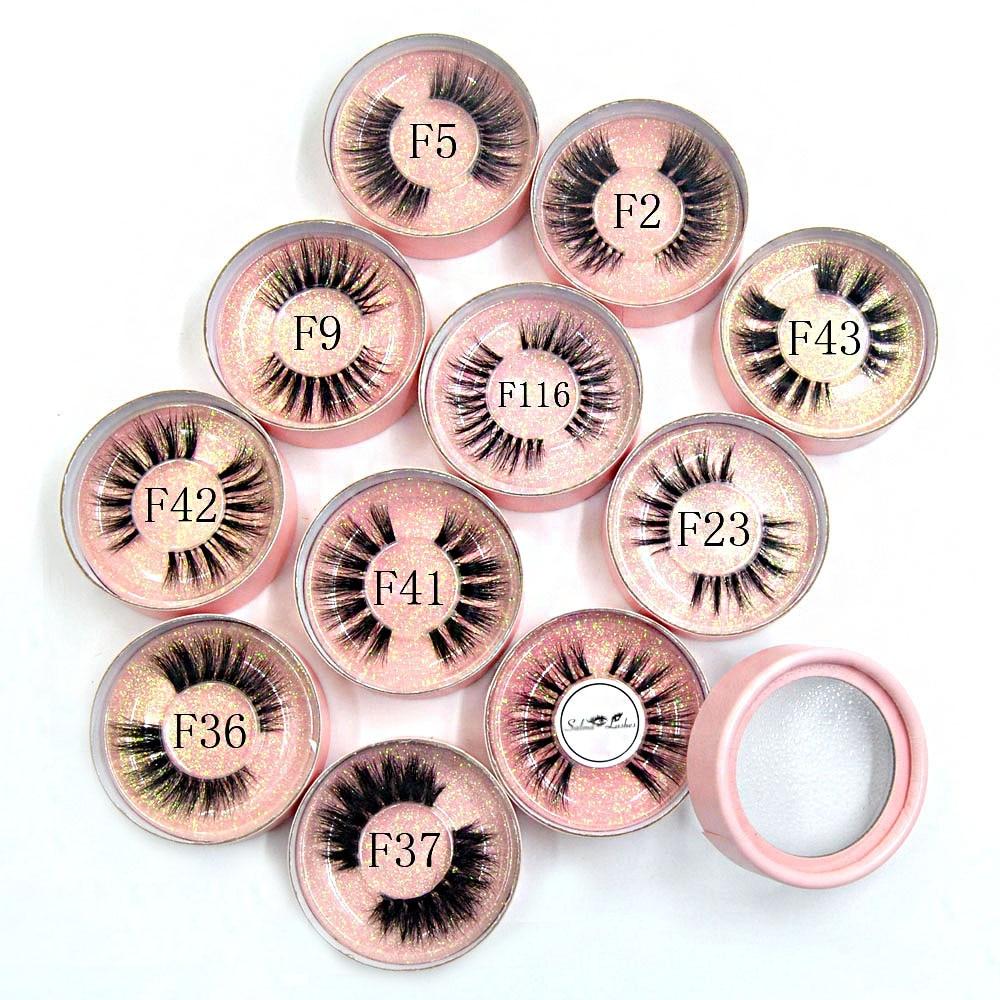 10 pcs vizon kirpikleri ile pembe yuvarlak kutu + logo10 pcs vizon kirpikleri ile pembe yuvarlak kutu + logo