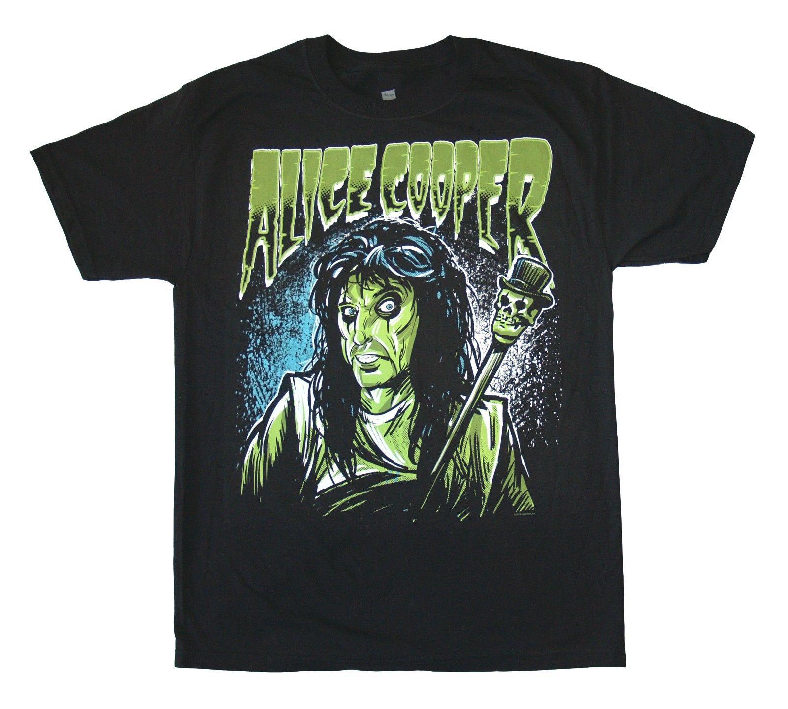 ALICE COOPER - Cooper Green - T SHIRT Medium Brand New Official T Shirt  Fresh Design 0c4f49126514