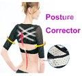Высокое качество женщины Плеча корректор осанки брейс пояс для спины Тренажер тонкие Массаж рук манжеты ортопедии Ремень