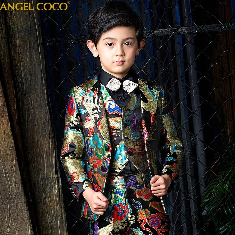 Костюмы для мальчиков на свадьбу, костюмы для мальчиков, деловой костюм для мальчиков, Enfant Garcon Mariage Terno Infantil Disfraz Infantil Menino