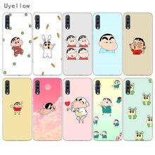 Uyellow Cute Crayon Shin chan Phone Case For Samsung A10 A20 A30 A40 A50 A60 A70 A80 A20E Cover Galaxy M10 M20 M30 M40 Coque