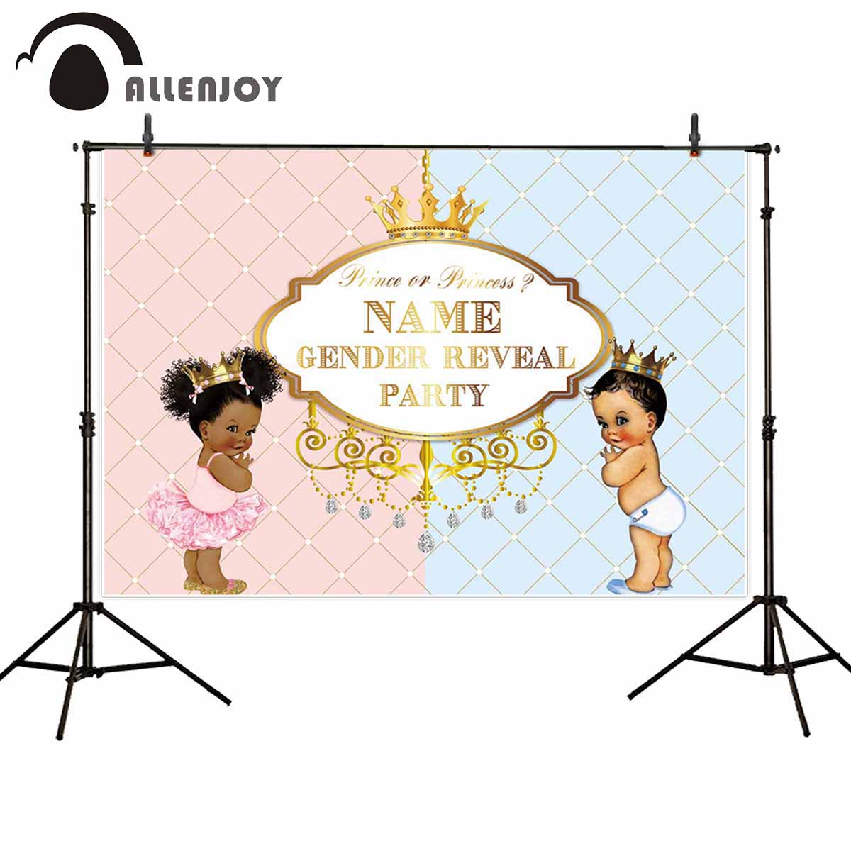 Reveal Group: Allenjoy Backgrounds For Photography Studio Gender Reveal
