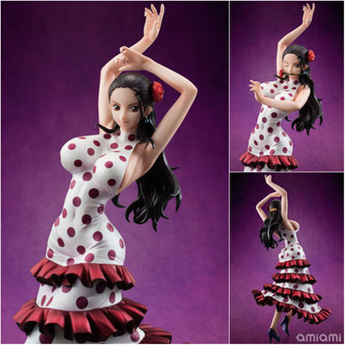 20cm One Piece POP Japanese Anime Violet Viola PVC Model Dancing Diva Sexy Dancing Girl Garage Kits Action & Toy Figures anime one piece dracula mihawk model garage kit pvc action figure classic collection toy doll