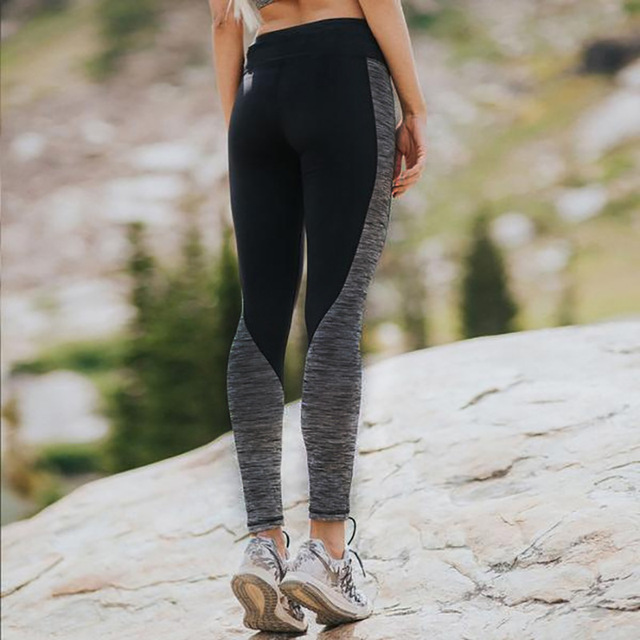 Yoga Pants For Women Fitness Tight Sportswear Nice Leggings High Elastic Sports Yoga Pants Running Trousers Leggings 2017