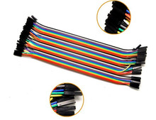 5PCSFemale-female Dupont line 40pcs 20cm jumper wire Dupont cable For arduino