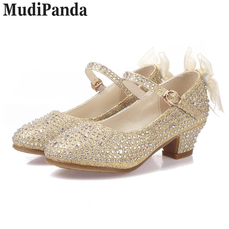 MudiPanda sandały dla dziewczynek dziecięce wysokie obcasy - Obuwie dziecięce - Zdjęcie 1