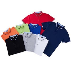 Image 5 - Custom embroidery polo shirt, embroidered business polo shirt, embroidery polo Shirt Uniform Workwear custom