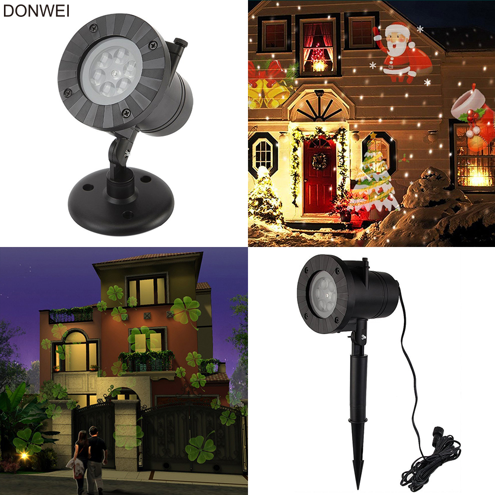 Holiday Decor Waterproof Outdoor LED Stage Lights 12 Types