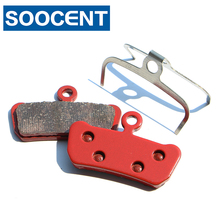 4 Pairs Sintered Bicycle Brake Pads for SRAM Avid X0 Trail for SRAM Guide R RS RSC MTB Mountain Bike Disc Brake Parts r mountain r mountain rm002cudbs49
