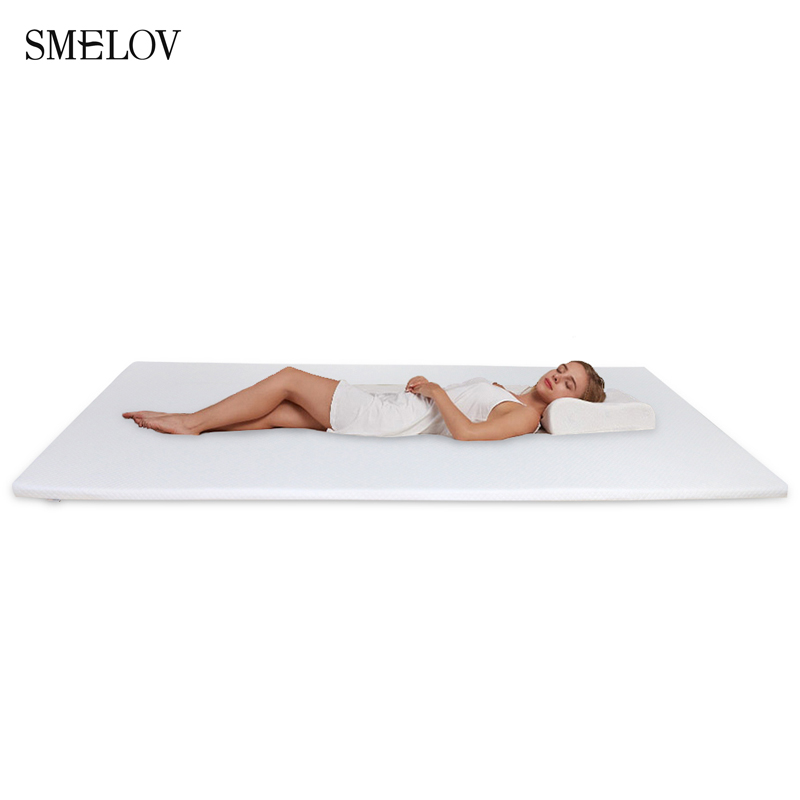 Foldable Memory Foam Mattress 3/5CM Thickness Student Dormitory Single Mattress Non-slip Single Double Queen King Size Bed Mat