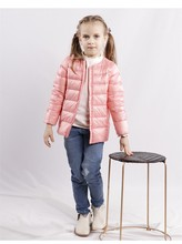 цены Free shipping new winter children clothing Korean style cute candy color light down jacket outerwear for girls