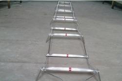 10 M Filo di Acciaio Alluminio Scaletta di Corda Salvavita Scaletta Pieghevole Scaletta del Fuoco Di Salvataggio Durevole Con Gancio di Sicurezza