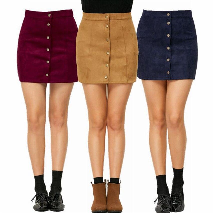 HTB1ulPCPpXXXXawXVXXq6xXFXXXo - Spring Button Suede Leather Skirts JKP058